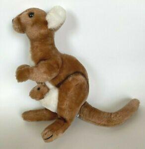 Vintage Dakin KANGAROO Baby JOEY 1975 Cabbie Plush Stuffed Animal