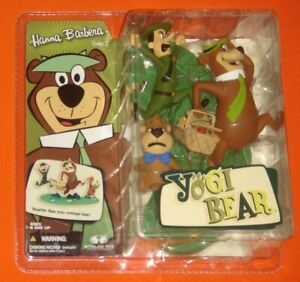 Yogi Bear Hanna Barbera Series 2 Action Figure McFarlane Toys 2006 Sealed