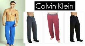 Calvin Klein Men's Micro Modal Lounge Pants Micromodal Ck Men U1143 Pajama New