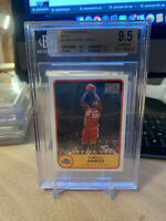 2003 Bazooka Red LeBron James ROOKIE RC #223B BGS 9.5 GEM MINT • QUAD 9.5 Psa 10