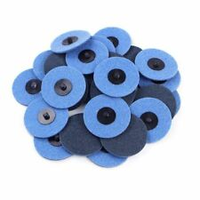 25pc 3 Fine Grit Roloc Cleaning Roll Lock Surface Conditioning Sanding Disc