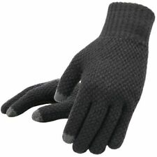 Men Winter Knitted Gloves Touch Screen High Quality Thicken Warm Wool Mittens