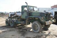 1971 M818 5Ton 6x6 Military Tractor-Runs Excellent Cummins Diesel 110 Gal, 24V