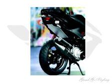 Heckdurchgang Abdeckung silber ODF für Yamaha Aerox MBK Nitro bis BJ.2012