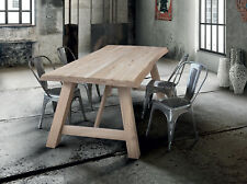 Table 816-817 IN Oak Solid Wood Knot Open, Various Sizes, Super Table