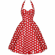 Polyester 50's, Rockabilly Spotted Dresses for Women