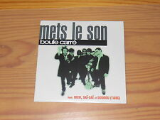 Boule CARRE-mets le son/2 track MAXI-CD 1996 OVP! New! (cardsleave)