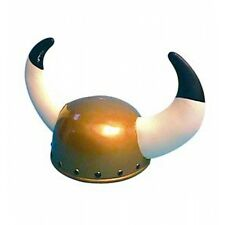 Viking Helmet With Horns Fancy Dress Costume Hat Accessory P809