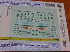 "Microscale Decal HO #MC-4259 Washington State DOT ""Grain Train"" -- Mini-Cal Pull"