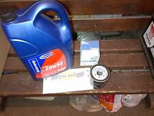MG MIDGET 1275  ENGINE OIL AND OIL FILTER 20/50 4.55 LITRES AND GFE166