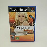 Singstar Hottest Hits for Sony Playstation 2 PS2   Good Condition PAL Game   CIB