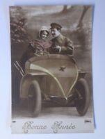 Neujahr, Auto, Männer, Frauen    1915 ♥  (58456)