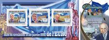 Euro Dinero Monedas Billetes Europeos Unión Guinea-Bissau MNH Juego de Sellos