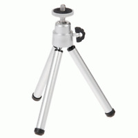 New Silver Universal Tripod Stand For Digital Camera Video Camera Webcam #118