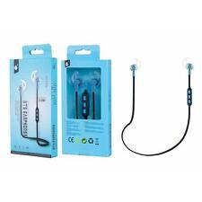 Auriculares azul bluetooth para consolas de videojuegos