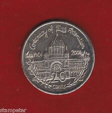 2001 Centenary of Federation- Victoria,  Australian Unc 20cent Coin