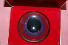 VIntage RARE paperweight glass swordfish eye taxidermy new old stock with box