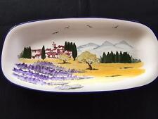 Sur La Table Landscape Scene Oval Serving Platter Portugal