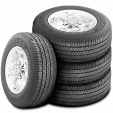 4 New Bridgestone Dueler H/T 684 II 265/60R18 110H A/S All Season Tires