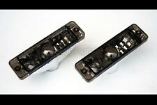 VW Golf Jetta MK1 MK2 1 2 Small Bumper Black Euro Turn Signal Side Marker Lights
