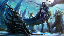 HOT World of Warcraft Sylvanas Windrunner frozen throne game mouse pad.