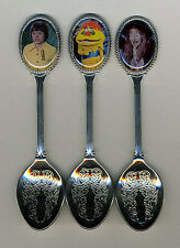 H.R. Pufnstuf 3 Silver Plated Spoons Featuring H.R. PufnStuf