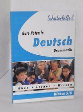 Schülerhilfe Deutsch Grammatik - 5./6. Klasse - Tandem Verlag