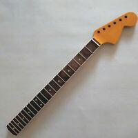 Big headstock maple 21 fret guitar neck rosewood fingerboard for ST style Yellow