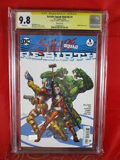 DC Comic Harley Quinn & Suicide Squad: Rebirth #1 CGC SS 9.8 Amanda Conner
