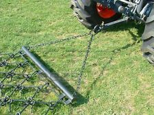 4' x 3' Long Drag Chain Harrow Landscape Arena ATV Rake - Overall Length 6'