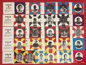FIGURINA CALCIATORI BAGGIOLI 1970-71 CACCIA AL CAMPIONE SCEGLI DALL'ELENCO NUOVE
