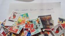 Echte Briefmarken aus Großbritannien mit Königshäuser-Motiv