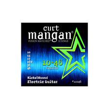 Curt Mangan 10-46 Níquel Cuerdas para guitarra eléctrica de la herida