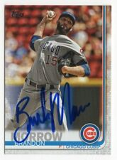 BRANDON MORROW Signed Autographed 2019 Topps Series 2 Card CHI Chicago Cubs #469