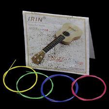 Set of 4 Pcs Mix Colors Durable Nylon Ukelele Strings for Ukulele Guitar Parts