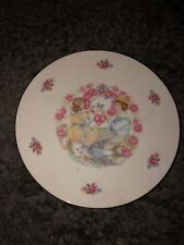 Vintage 1976 Royal Doulton England Collector Plate My Valentine 8-1/4""