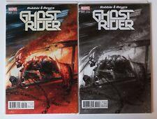 Ghost Rider #1, Dell'Otto Color B&W Variant set, NM