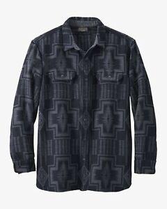 Pendleton Driftwood Shirt - Black / Grey Harding