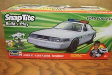 REVELL Snap-Tite Build & Play FORD POLICE CAR 1/25 SCALE MODEL KIT