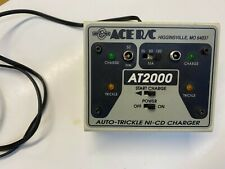 Ace R/C Model Airplane AT2000 Dual Output Ni-Cd Charger W/Auto Trickle Vintage