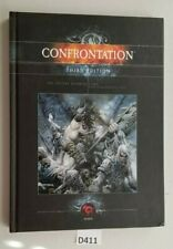Rackham Confrontation Third Edition Hardcover Rulebook Good Condition 2005
