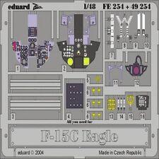 EDUARD MODELS 1/48 Aircraft- F15C Interior for ACY (Painted) EDU49254