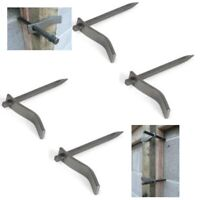 DUTCH PINS (Masons Pegs) X 4 Bricklayers Clamps Fix temporary Profiles Boards