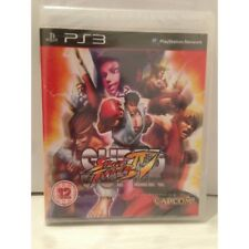 Super Street Fighter IV Sony Playstation 3 PS3 Pal