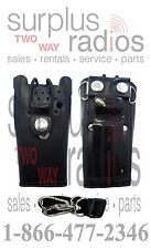 Heavy Duty Leather Holster for  MOTOROLA CP200 PR400 CP150 CP185 CT250 CP200D