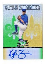 KYLE ZIMMER  MLB 2012 LEAF VALIANT DRAFT AUTOGRAPH (KANSAS CITY ROYALS)