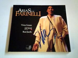 Harmonica Mundi CD - Arias Farinelli - signiert von Vivica Genaux