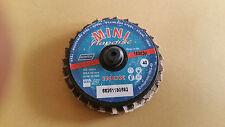 Mini Fächerscheiben 50 mm Stahl Edelstahl Korn 40 Flapdisc Norton
