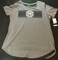 New: NBA Boston Celtics Gray T-Shirt - Size:  XL