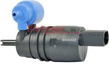 Waschwasserpumpe, Scheibenreinigung für Scheibenreinigung METZGER 2220008